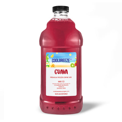 CoolBreeze Frozen Drink Flavor Syrups - Pink Guava
