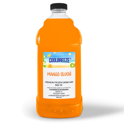 CoolBreeze Frozen Drink Flavor Syrups SNO CONE BASE - Mango
