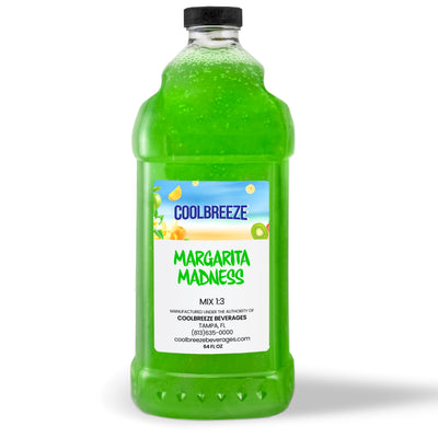 CoolBreeze®️ Ready To Use Premium Mix, Margarita Madness, 1/2 Gallon