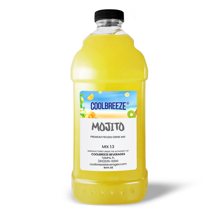 CoolBreeze Frozen Drink Flavor Syrups - Mojito
