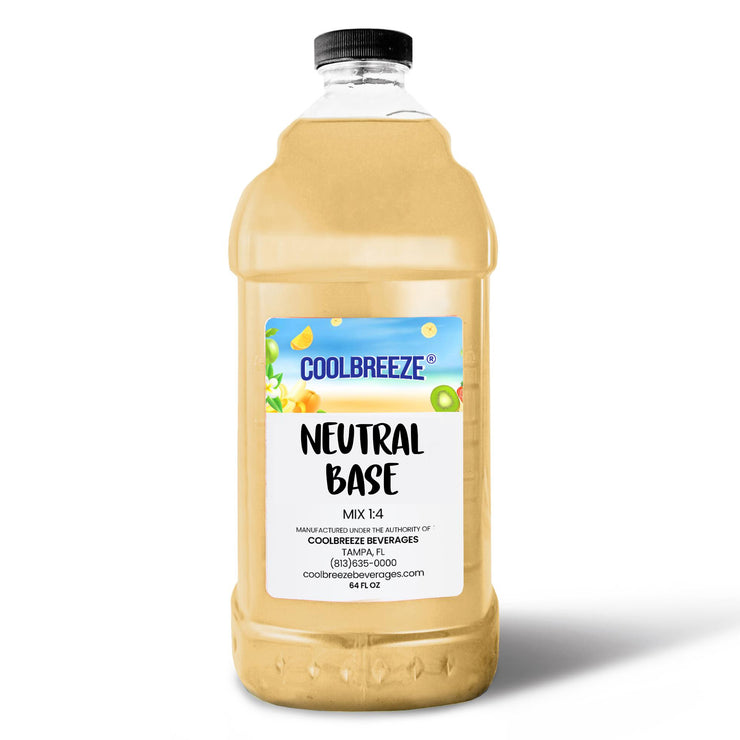 CoolBreeze Frozen Drink Flavor Syrups - Neutral Base