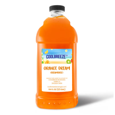 CoolBreeze Frozen Drink Flavor Syrups - Orange Dream