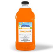 CoolBreeze Frozen Drink Flavor Syrups SNO CONE BASE - Orange