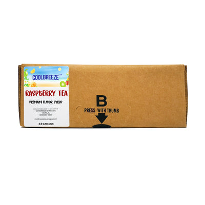 CoolBreeze® Raspberry Tea Concentrate 2.5 Gallon Bag in Box