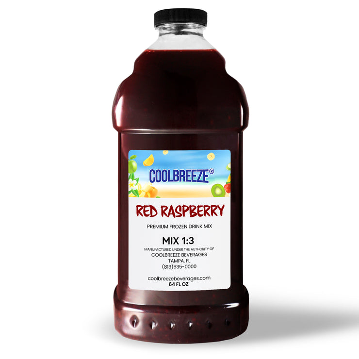 CoolBreeze Frozen Drink Flavor Syrups - Red Raspberrry