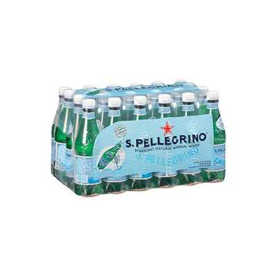 San Pelligrino 8oz Glass Botlles - 250ml - 24ct