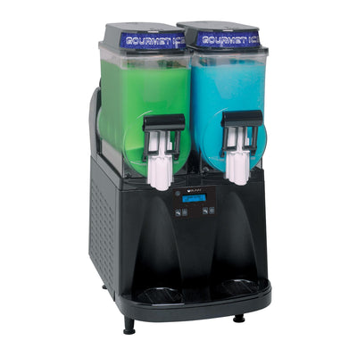 Bunn Ultra-2 Black with LED Toppers, FROZEN DRINK MACHINE