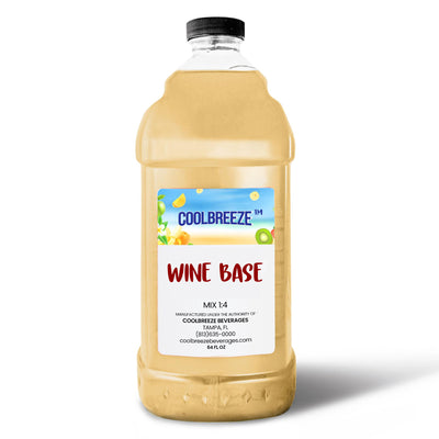 CoolBreeze Frozen Drink Flavor Syrups - Wine Base