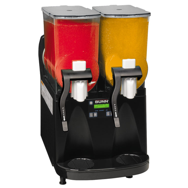 Bunn Ultra-2 HP BLK with flat lids, Frozen Drink Machine