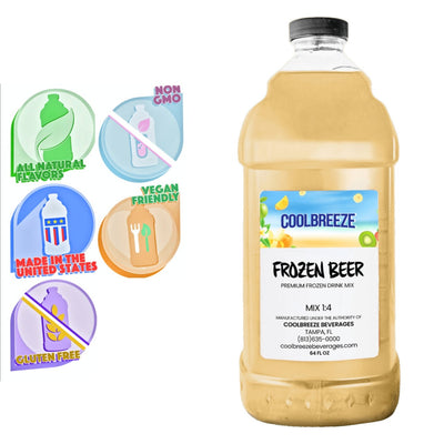 CoolBreeze®️ Ready To Use Premium Mix, Frozen Beer, 1/2 Gallon