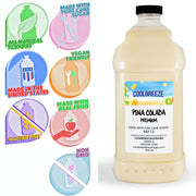 CoolBreeze®️ Ready To Use Premium Mix, Piña Colada, 1/2 Gallon