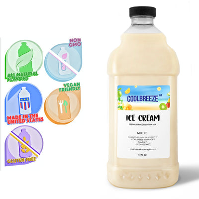 CoolBreeze®️ Ready To Use Premium Mix, Ice Cream, 1/2 Gallon