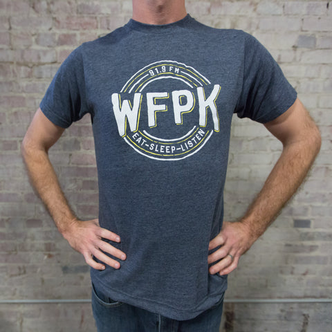 *XS ONLY* WFPK Eat Sleep Listen Shirt