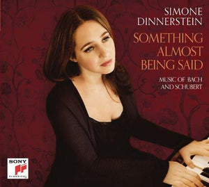 [reduced] $5/mo. Sustainer Gift - Simone Dinnerstein: Something Almost Being Said CD