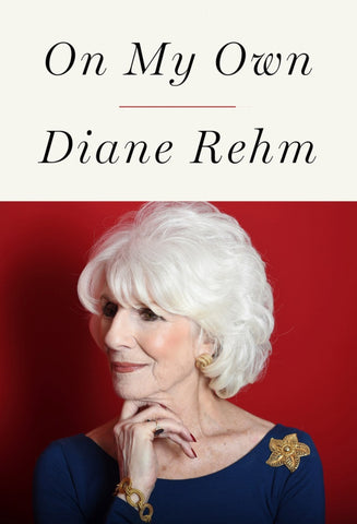 [reduced] $10/mo. Sustainer Gift - On My Own book by Diane Rehm