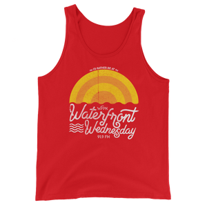 WFPK I'd Rather Be at Waterfront Wednesday Tank Top (Unisex)