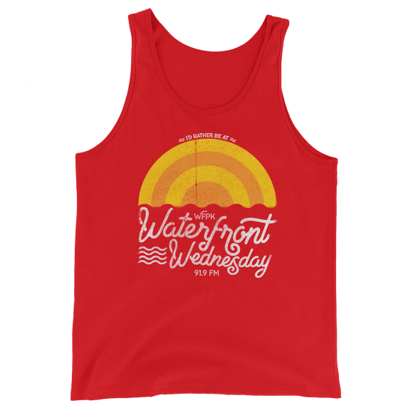 WFPK I'd Rather Be at Waterfront Wednesday Tank Top