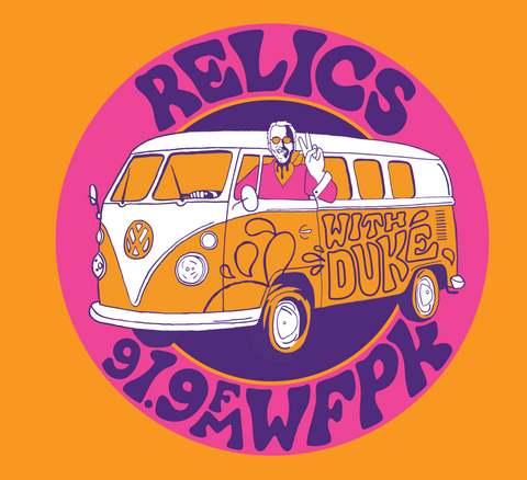 $15/mo. Sustainer Gift - Relics T-Shirt 2016