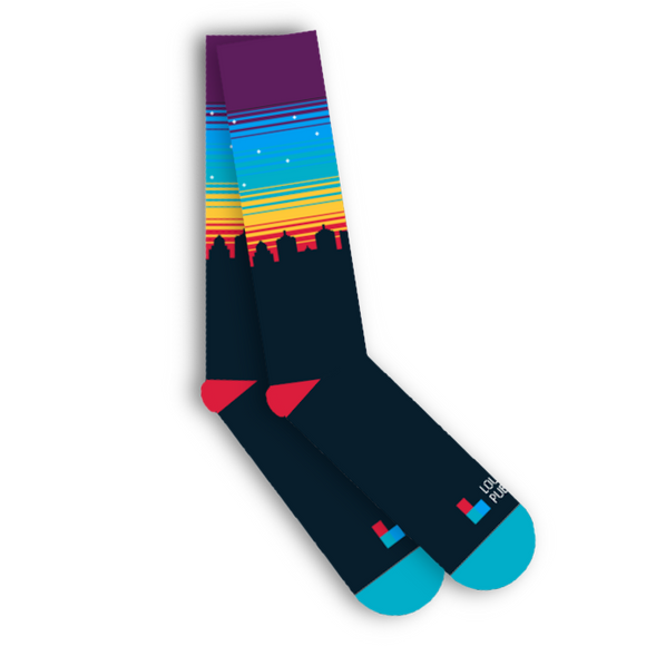 $15/mo. Sustainer Gift - LPM Socks