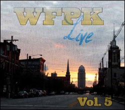 [reduced] $5/mo. Sustainer Gift - WFPK Live Vol. 5 CD