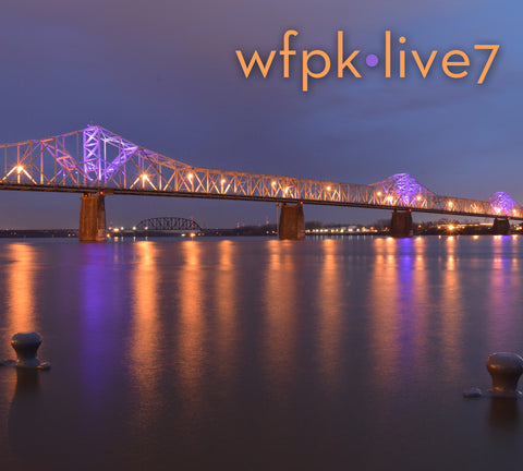 [reduced] $10/mo. Sustainer Gift - WFPK Live Vol. 7 CD