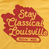 WUOL Stay Classical Shirt (yellow)