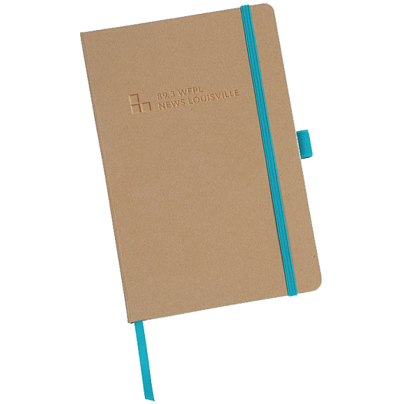 $15/mo. Sustainer Gift - WFPL Notebook w/ KyCIR pen