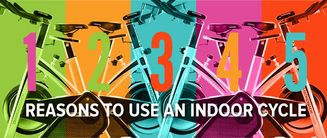 Top 5 Reasons to Use an Indoor Cycling Bike