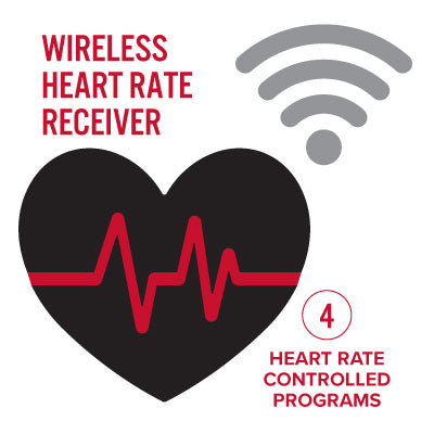 Image of Wireless heart rate controlled resistance