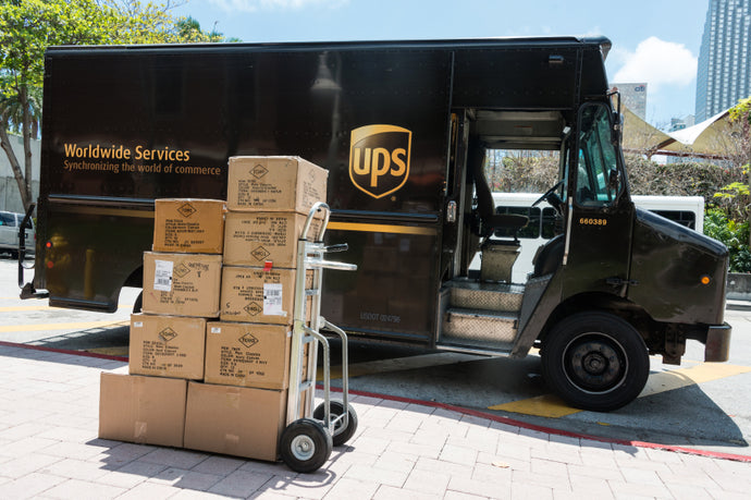 UPS 2ND DAY AND NEXT DAY AIR SHIPPING RESTORED