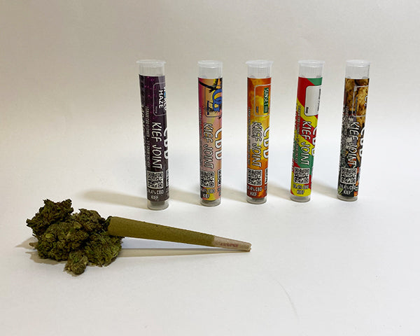 CBD Kief Joints now available in 5 new strains!!!