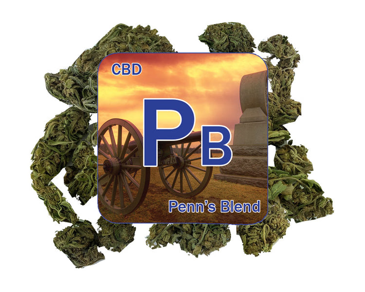 NEW CBD flower released @ $1.50 gram | Penn's Blend - 14.3% CBD