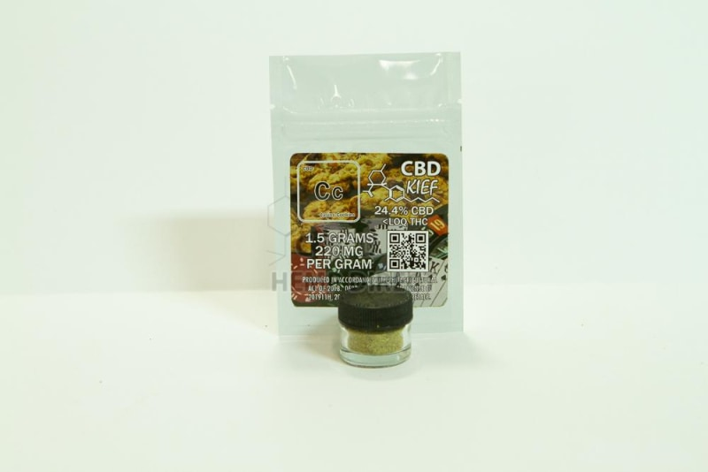 CBD Kief (1.5 grams) - NEW STRAINS AVAILABLE - CBD HEMP DIRECT