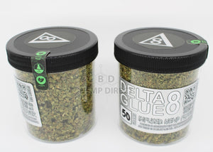 Delta 8 Glue Hemp Trim (50 Grams) - 200 Mg Cbd | 80 Thc Flower