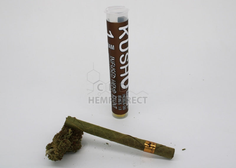 Delta 8 Hemp Flower Blunts - 4 Strains Available Banana Kush 220 Mg Cbd | 80 Thc Flower