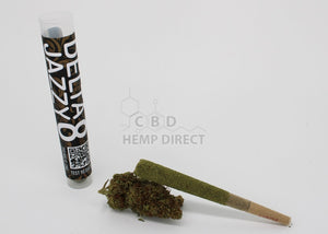 Delta 8 Hemp Flower Joints - 4 Strains Available Jazzy 190 Mg Cbg | 80 Thc Flower