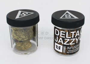 Delta 8 Jazzy Hemp Flower - 190 Mg Cbg | 80 Thc 3.5 Grams Flower