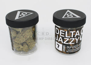 Delta 8 Jazzy Hemp Flower - 190 Mg Cbg | 80 Thc 7 Grams Flower
