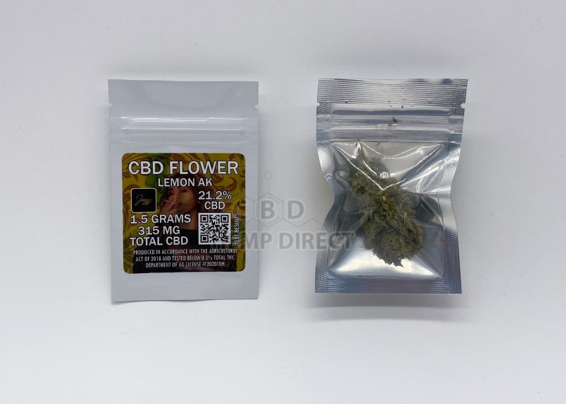 Jazzy Lemon Ak Cbd Flower - 21.2% | New @jasmincadavid Strain 1.5 Grams Flower