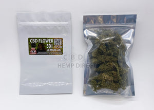 Jazzy Lemon Ak Cbd Flower - 21.2% | New @jasmincadavid Strain 30 Grams Flower