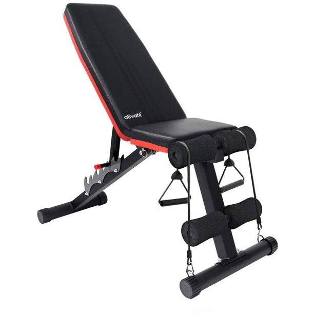 Adjustable Weight Bench Multi-Purpose Workout Utility