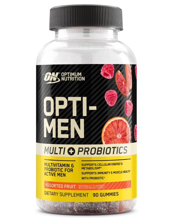 OPTI-MEN MULTI + PROBIOTIC GUMMIES Multivitamin & Probiotic Support