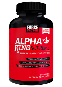 TESTOSTERONE BOOSTERS  ALPHA KING SUPREME