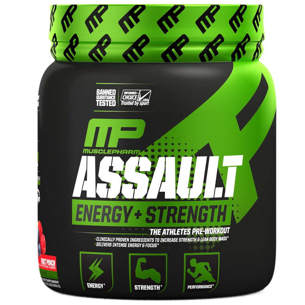 MusclePharm Assault Pre-Workout