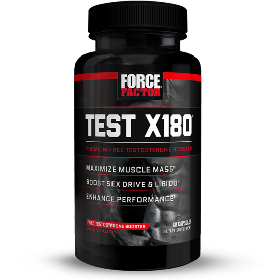 TESTOSTERONE BOOSTERS  TEST X180 60 CAPSULES