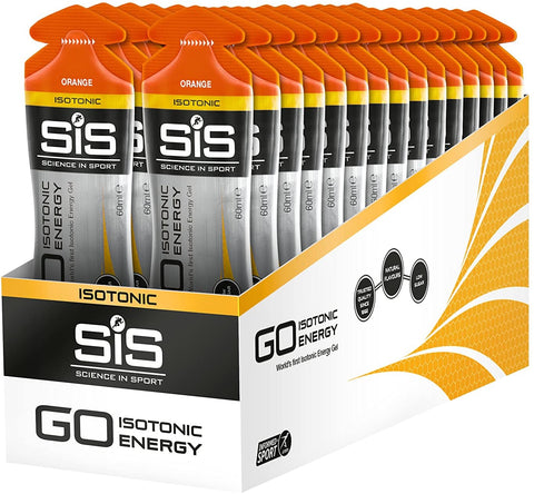 SIS Isotonic Gel (range of flavours in store)
