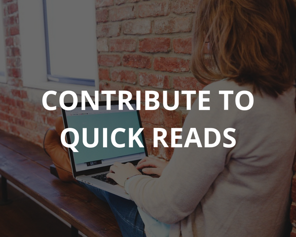 Contribute to quick reads