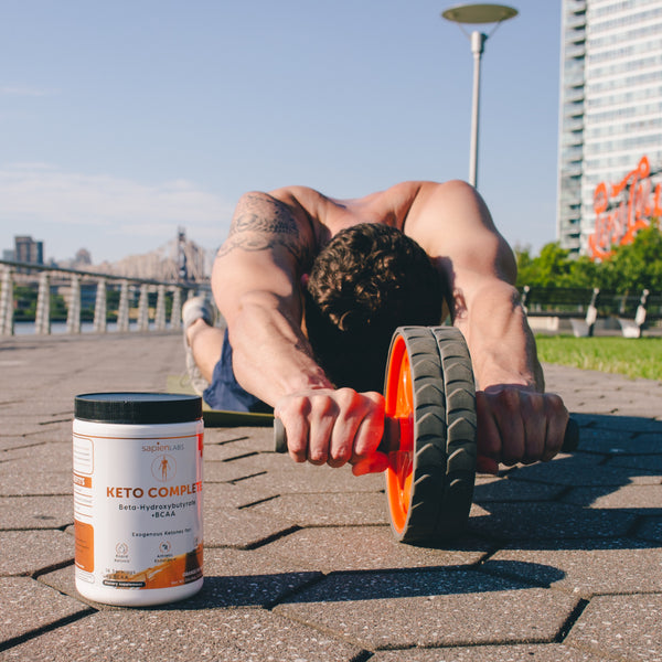 Exogenous ketones and branched chain amino acids to help one reach ketosis and improve athletic performance, loss weight and improve cognitive function
