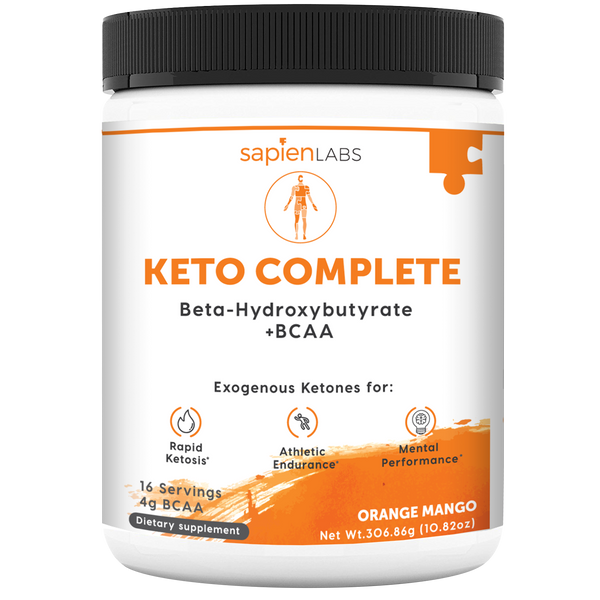 Keto Complete is an exogenous ketones supplement for ketosis dieters to meet their nutrition goals