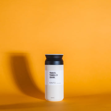 thermos café kinto travel blanc
